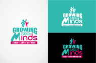 Growing Little Minds Early Learning Center or Growing Little Minds Logo - Entry #157