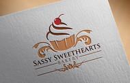 Sassy Sweethearts Bakery Logo - Entry #9