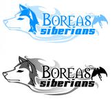 Siberian Husky Logo - Entry #35