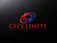 City Limits Vet Clinic Logo - Entry #116