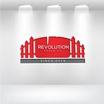 Revolution Fence Co. Logo - Entry #115