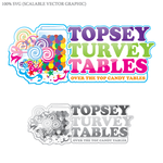 Topsey turvey tables Logo - Entry #14