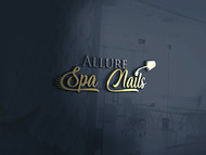 Allure Spa Nails Logo - Entry #70