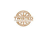 Twisted Turquoise Boutique Logo - Entry #69