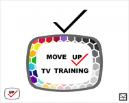 Move Up TV Training  Logo - Entry #44