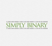 Simply Binary Logo - Entry #37