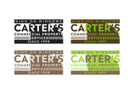 Carter's Commercial Property Services, Inc. Logo - Entry #115