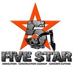 Five Star Logo - Entry #125