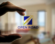 "Open Road Wealth Services, LLC  (The ""LLC"" can be dropped for design purposes.) Logo - Entry #99"