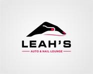 Leah's auto & nail lounge Logo - Entry #174