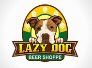 Lazy Dog Beer Shoppe Logo - Entry #15