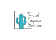 Twisted Turquoise Boutique Logo - Entry #18