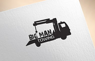 Big Man Towing Logo - Entry #112