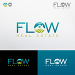 Flow Real Estate Logo - Entry #33