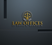 Law Offices of David R. Monarch Logo - Entry #216