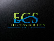 Elite Construction Services or ECS Logo - Entry #103
