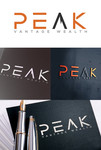 Peak Vantage Wealth Logo - Entry #101