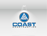 CA Coast Construction Logo - Entry #176
