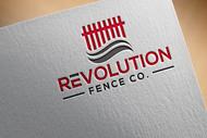 Revolution Fence Co. Logo - Entry #134