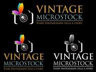 Vintage Microstock Logo - Entry #88
