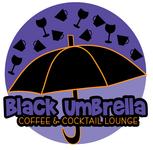Black umbrella coffee & cocktail lounge Logo - Entry #99