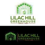 Lilac Hill Greenhouse Logo - Entry #84