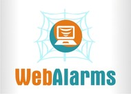 Logo for WebAlarms - Alert services on the web - Entry #155