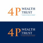 4P Wealth Trust Logo - Entry #340