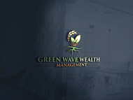 Green Wave Wealth Management Logo - Entry #293