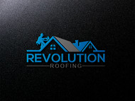 Revolution Roofing Logo - Entry #280