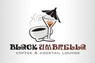 Black umbrella coffee & cocktail lounge Logo - Entry #118