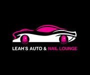 Leah's auto & nail lounge Logo - Entry #189