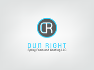 Dun Right Spray Foam and Coating LLC Logo - Entry #5