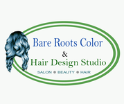 Bare Roots Color & Hair Design Studio Logo - Entry #14