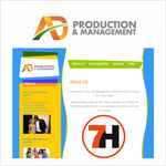 Corporate Logo Design 'AD Productions & Management' - Entry #60