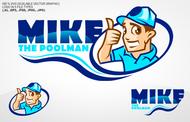 Mike the Poolman  Logo - Entry #39