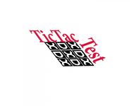 TicTacTest Logo - Entry #27