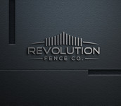Revolution Fence Co. Logo - Entry #50