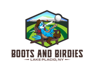 Boots and Birdies Logo - Entry #65
