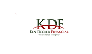 Ken Decker Financial Logo - Entry #103