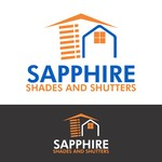 Sapphire Shades and Shutters Logo - Entry #179