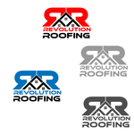 Revolution Roofing Logo - Entry #365