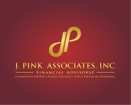 J. Pink Associates, Inc., Financial Advisors Logo - Entry #170
