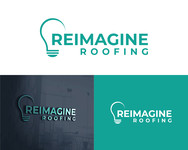 Reimagine Roofing Logo - Entry #2