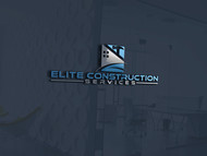Elite Construction Services or ECS Logo - Entry #116