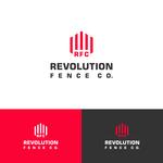 Revolution Fence Co. Logo - Entry #167