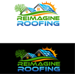 Reimagine Roofing Logo - Entry #327