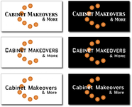 Cabinet Makeovers & More Logo - Entry #130