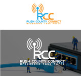 Rush County Connect Broadband Task Force Logo - Entry #46