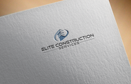 Elite Construction Services or ECS Logo - Entry #43